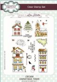 Creative Expressions - Christmas Town A5 Clear Stamp Set - CEC856